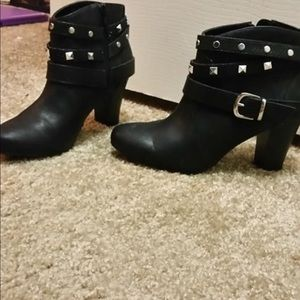 Jlo ankle booties
